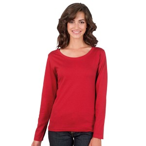 Majestic - Tee-Shirt Femme Couleur Manches Longues