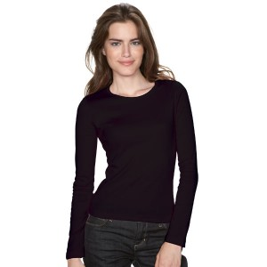 Angel - Tee-Shirt femme manches longues couleur
