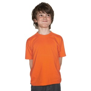 Regent Kids - Tee-shirt Couleur Col Rond