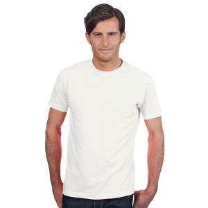 Imperial - Tee-Shirt Homme col rond blanc
