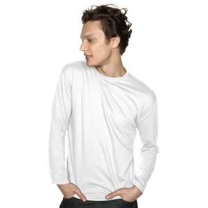 Monarch - Tee-Shirt Blanc Manches Longues