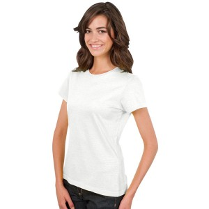 Imperial Women - Tee-Shirt Femme col rond blanc