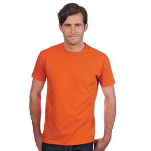 Imperial - Tee-Shirt Homme col rond couleur orange